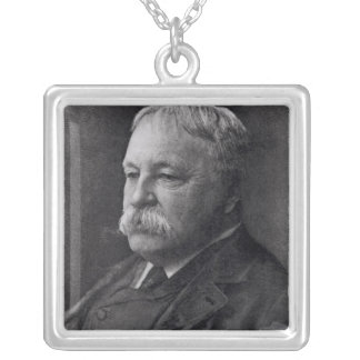 William D. Howells  from Literature Silver Plated Necklace