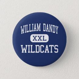 William Dandy Wildcats Fort Lauderdale Pinback Button