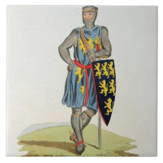 William de Longuespee, 3rd Earl of Salisbury (d.12 Ceramic Tile