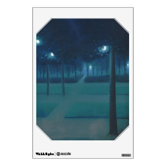 William Degouve de Nuncques - Parc Royal, Brussels Wall Sticker