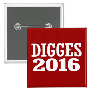 William Digges 2016 2 Inch Square Button