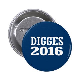 William Digges 2016 2 Inch Round Button