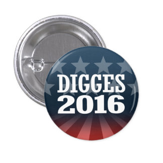 William Digges 2016 1 Inch Round Button