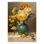 William Duffield: Marchal Niel Roses Greeting Card