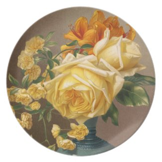 William Duffield: Marchal Niel Roses fuji_plate