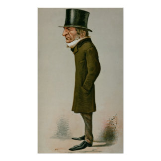 William Ewart Gladstone Poster