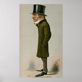 William Ewart Gladstone Poster