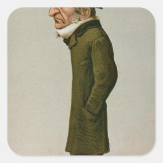 William Ewart Gladstone Square Sticker