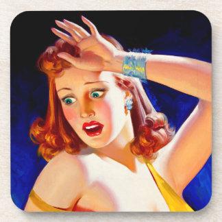 William Fulton Soare: Menace Pulp Cover Coaster