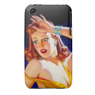William Fulton Soare: Menace Pulp Cover iPhone 3 Case-Mate Cases