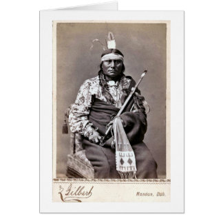 William Gilbert Gaul Native American Indian Card