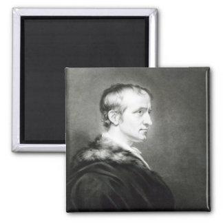 William Godwin  1802 2 Inch Square Magnet