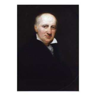 William Godwin by Henry William Pickersgill 5x7 Paper Invitation Card