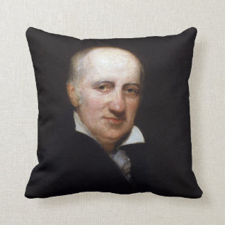 William Godwin by Henry William Pickersgill Throw Pillow