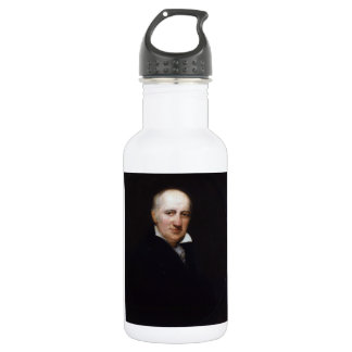William Godwin by Henry William Pickersgill Water Bottle