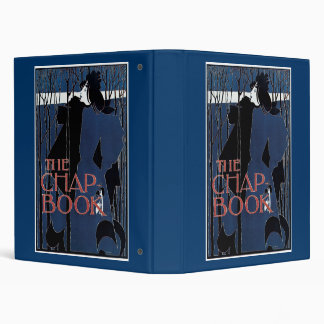 William H Bradley The Chap Book Lady In Blue Binder