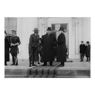 William H. Taft, James Bryce & Archibald W. Butt Poster