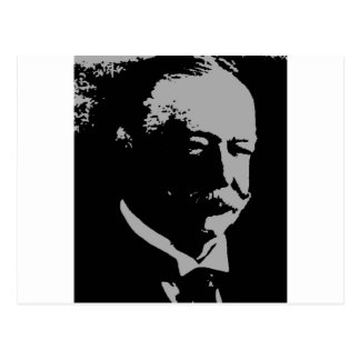 William H. Taft silhouette Postcard