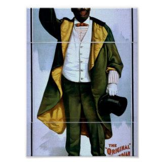 William H. West, Big minstrel Jubilee, 'Lew Sully' Poster