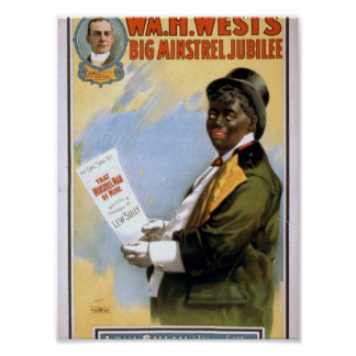 William H. West, Big minstrel Jubilee, 'Lew Sully' Posters