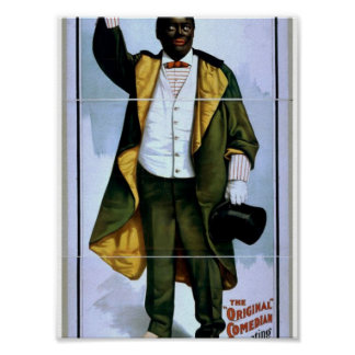 William H. West, Big minstrel Jubilee, 'Lew Sully' Print