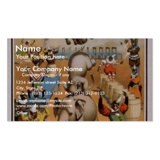 William H. West Business Card Template