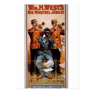 William H. West Post Card