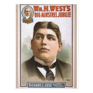William H. West Postcard