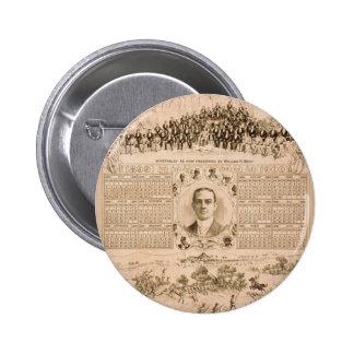 William H. West, 'The Battle of San Juan Hill' Pinback Buttons