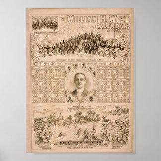 William H. West, 'The Battle of San Juan Hill' Print