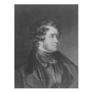 William Harrison Ainsworth Postcard