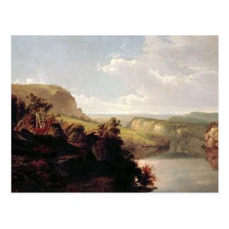 William Hart - Lake Among the Hills Postcard