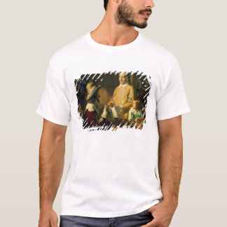 William Harvey  demonstrating to Charles I T-Shirt