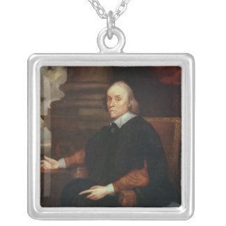 William Harvey  Royal physician, 17th century Silver Plated Necklace