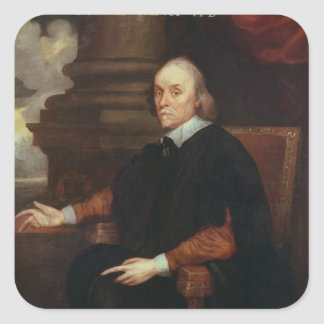 William Harvey  Royal physician, 17th century Square Sticker