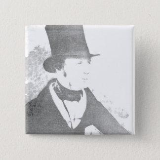 William Henry Fox Talbot  1844 Pinback Button