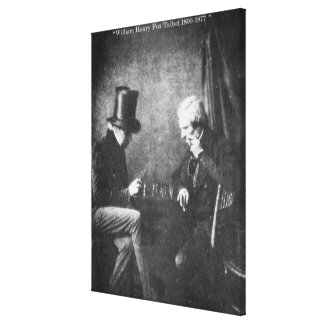 William Henry Fox Talbot Canvas Print