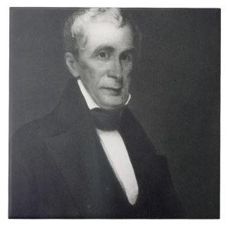 William Henry Harrison, 9no presidente de la unión Azulejo Cuadrado Grande