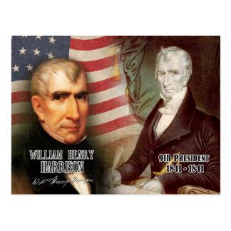 William Henry Harrison - 9no presidente de los E.E Tarjetas Postales