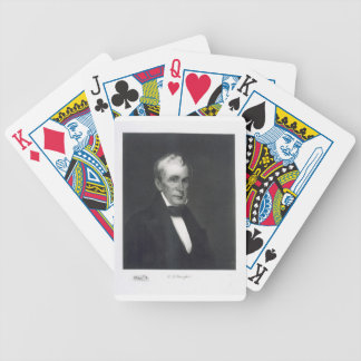 William Henry Harrison, 9th President of the Unite Bicycle Playing Cards