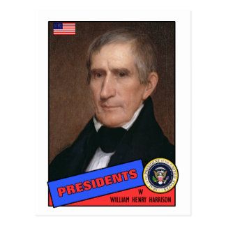 William Henry Harrison Baseball Card