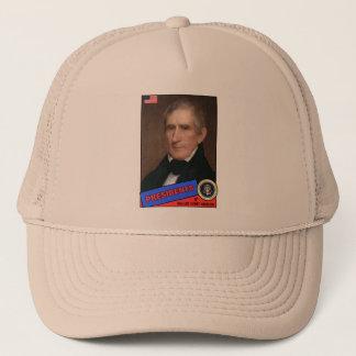 William Henry Harrison Baseball Card Trucker Hat