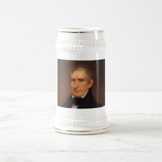 William Henry Harrison Beer Stein