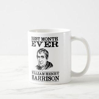 William Henry Harrison Best Month Ever Coffee Mug