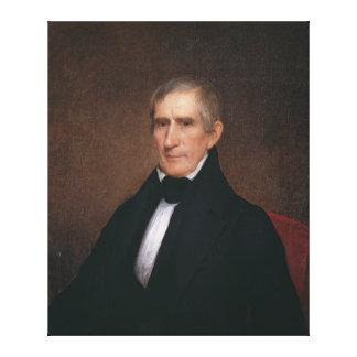 William Henry Harrison by Albert Gallatin Hoit Canvas Print