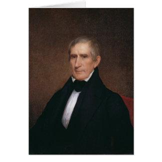 William Henry Harrison by Albert Gallatin Hoit Greeting Card