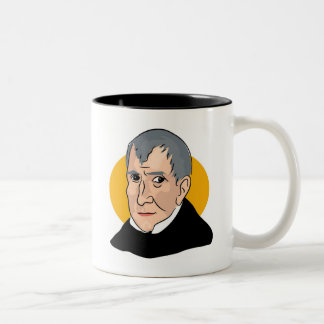 William Henry Harrison Two-Tone Coffee Mug