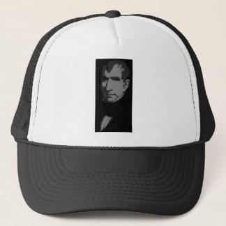 William Henry Harrison silhouette Trucker Hat