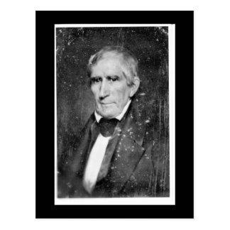 William Henry Harrison vintage photo postcard