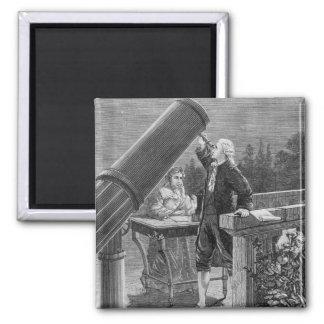 William Herschel  Discovers the Planet Uranus Magnet